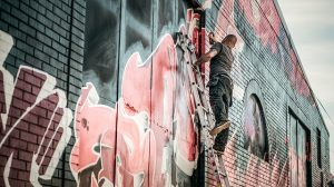 grafitti removal Moonee Ponds